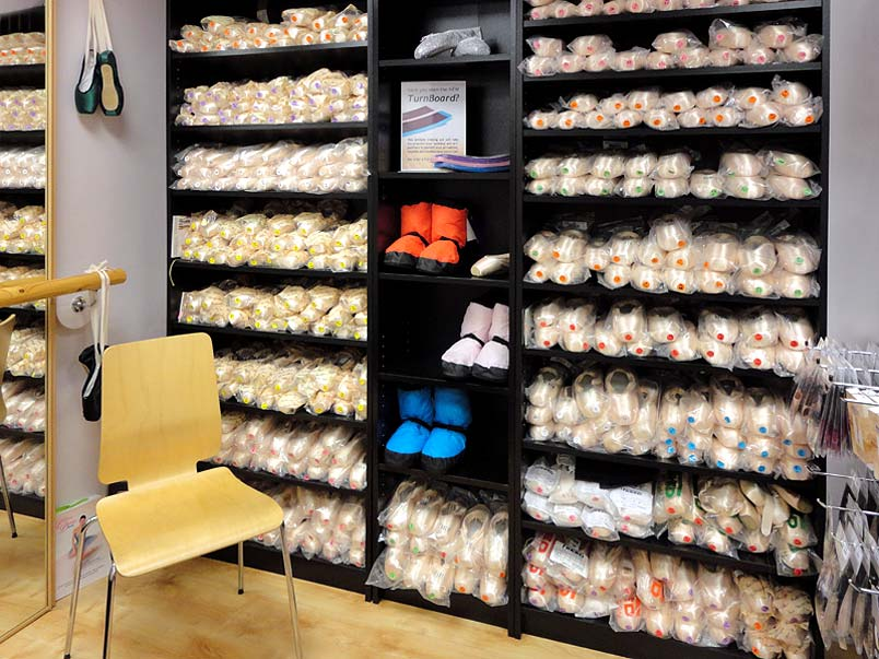 The Pointe Shoe Centre within Dancers Boutique in Amersham for all your pointe shoes and ballet dancewear needs.